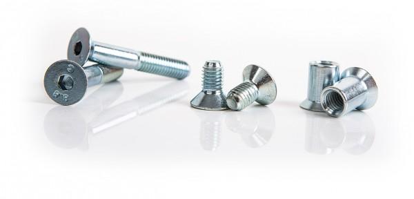 RoFlexs Ground Spike Screw-Set, galvanized